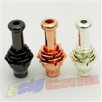 Metal Lotus Flower Drip Tip