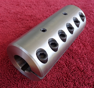 "1"" HEAVY DUTY STAINLESS STEEL COUPLER"