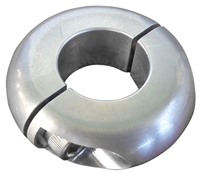 "1 1/8"" Aluminum Split Safety Collar"