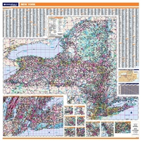 New York Highway City County map