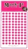 "Stick-on Dots Medium 1/4"" Numbered 1-240 PINK"