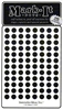 "600 BLACK  1/4"" map stick-on map dots"