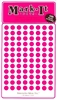 "600 pink 1/4"" map stick-on map dots"