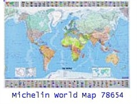 Michelin World Map 56x40