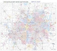 DFW Highways & Thoroughfares, Cities, Zip Codes
