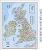 National Geographic Britain and Ireland map