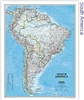 National Geographic South America map
