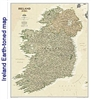National Geographic map containing Ireland