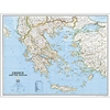 National Geographic Greece Political map