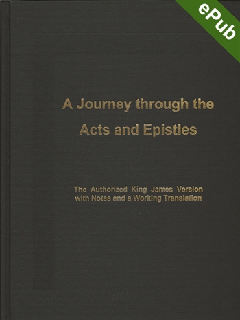 Journey through the Acts and Epistles: Ebook