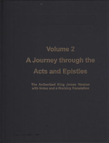 "<span style=""font-size: 14pt; color: rgb(0, 0, 0);"">Volume 2: A Journey through the Acts and Epistles</span>"