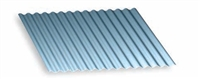 Metal Roofing Corrugated 2.5 Galvalume 29GA Bare 10'L