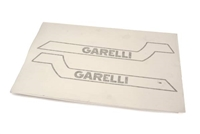 Garelli SSXL Gas Tank Decal Set - Black