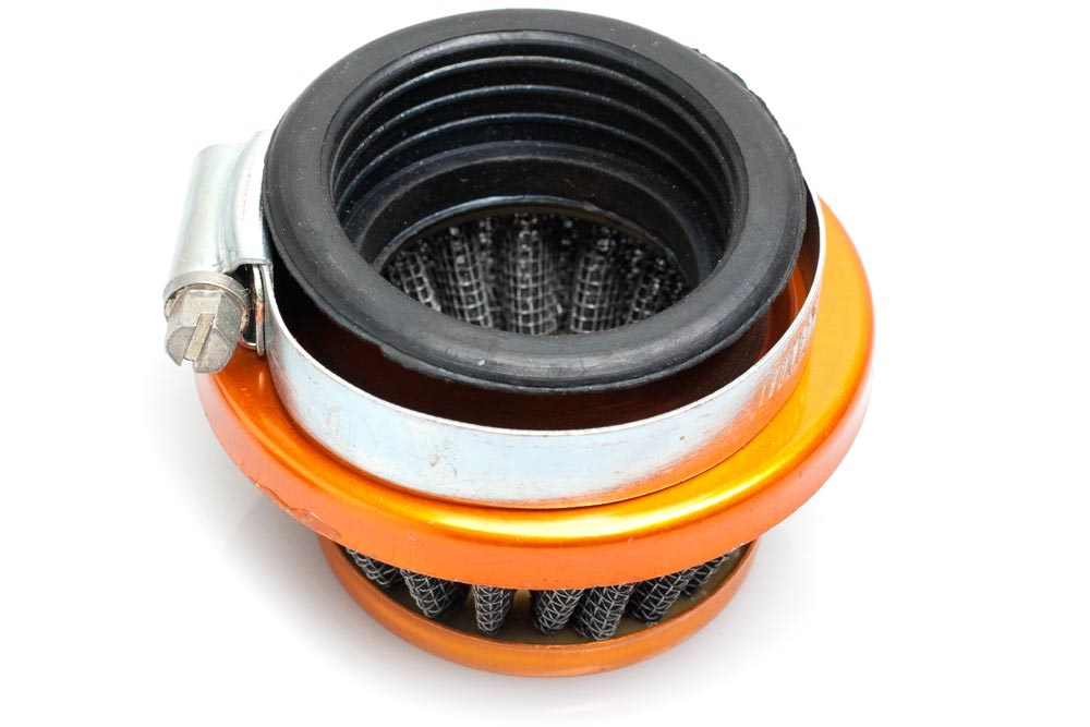 Dellorto Air Cleaner : Dellorto phbg phva cone shaped mesh air filter