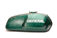 Green General Five Star Moped Gas Tank
