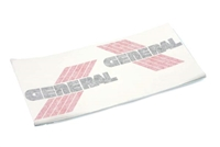 General Five Star Gas Tank Decal - Red/Black