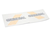General Five Star Gas Tank Decal - Yellow/Black