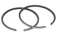 Hobbit & Batavus M48 Moped Stock Chromed Piston Rings - 40mm x 1.5mm - FG
