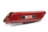 Jawa Babetta Tank - Red - Dinged Up Real Bad N' Rusty