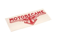 Motobecane RED Vinyl Decal
