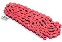 "Red 1/8"" Pedal Chain - 112 Links"