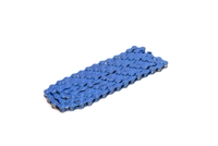 "Blue 1/8"" Pedal Chain - 112 Links"