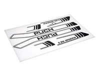 Puch Magnum FLAT BLACK Decal Set
