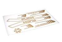 Puch Magnum GOLD Decal Set