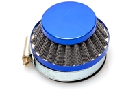 Dellorto SHA 60mm Shorty Air Filter - Blue