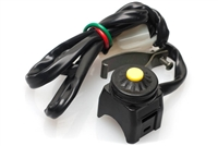 Waterproof YELLOW Button Moped Kill Switch