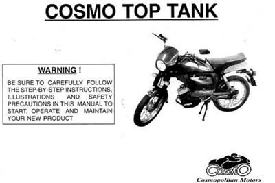Free Garelli Avanti Top Tank Moped Manuals
