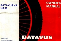 Free Batavus HS50 Moped Owners Manual