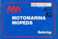 Free Motomarina Sebring Moped Owners Manual