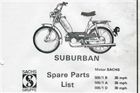 Free Sachs Suburban and Sachs Prima Moped Spare Parts Catalog