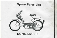 Free Sachs Sundancer Moped Spare Parts Catalog Manual