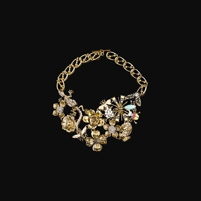 5 CT. T.W. Two-Stone Diamond Bracelet
