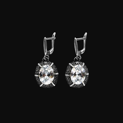 1/4 CT. T.W. Diamond Star Stud Earrings in 10K White Gold