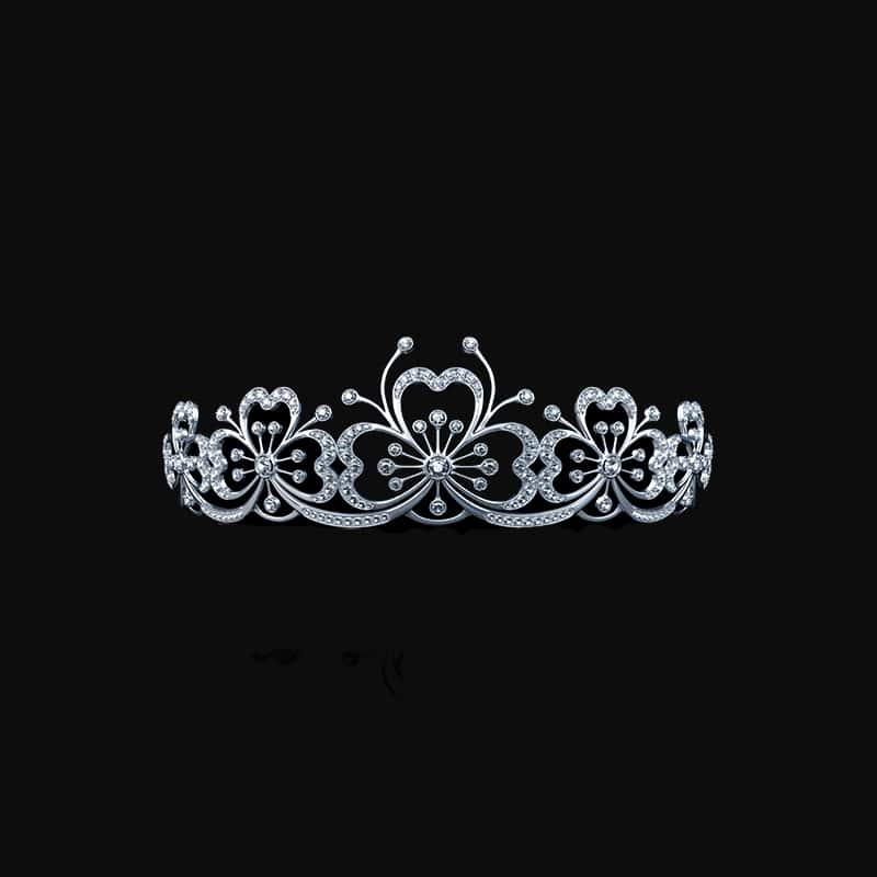 SIlver Diamond Tiara