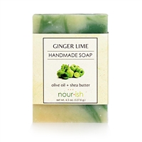 Ginger Lime Olive Oil and Shea Butter Soap