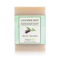 Lavender Mint Olive Oil and Shea Butter Soap