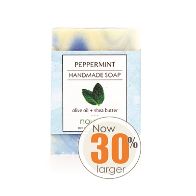 Peppermint Olive Oil and Shea Butter Soap