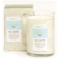 White Tea Large Soy Candle