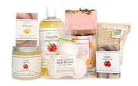 Vanilla Raspberry Large Gift Set
