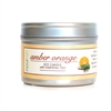 Amber Orange Travel Tin Soy Candle