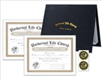 Marriage Certificates Presentation Kit