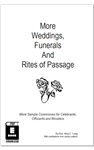 More Weddings Funerals and Rites of Passage ebook