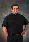 Big & Tall Short Sleeve Clergy Shirt for Men