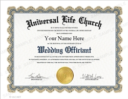 Universal Life Church Title