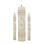 Unity Candle Wedding Ceremony Set (Gold)