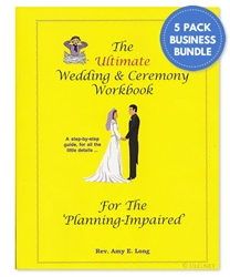 Wedding Workbook Business Bundle
